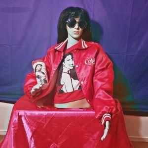 Selena quintanilla coca cola jacket with shirt&cup